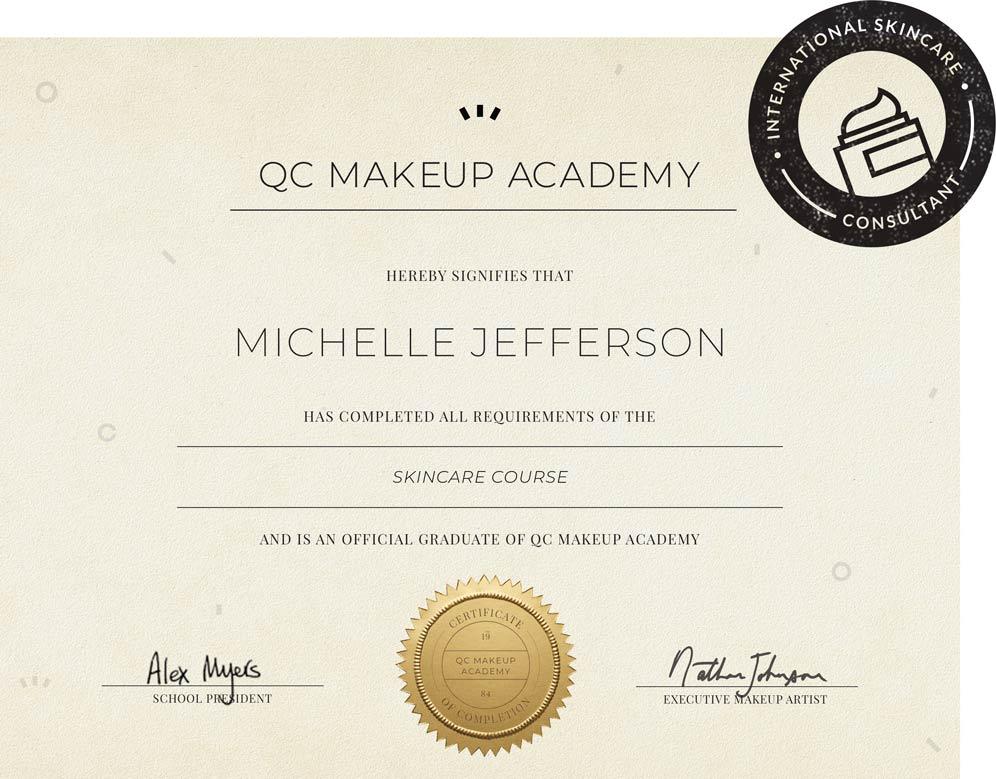 Skincare Course Qc Makeup Academy