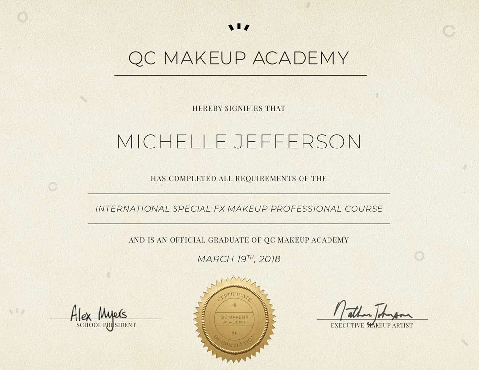 Special Fx Makeup Course Qc