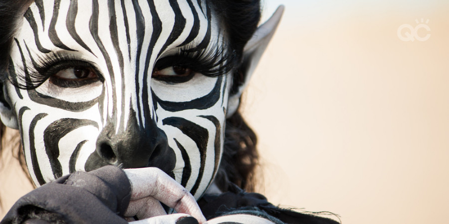 zebra character special effects makeup artistry
