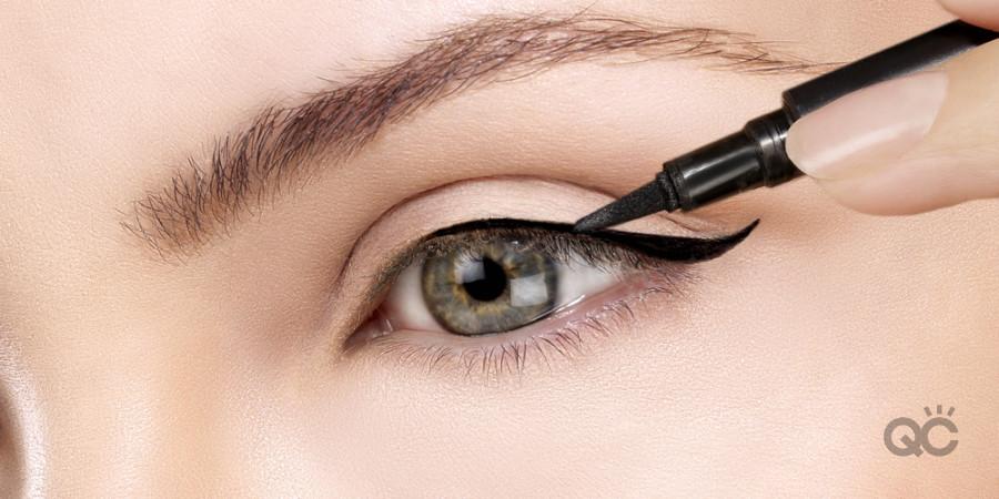 brush tip eyeliner