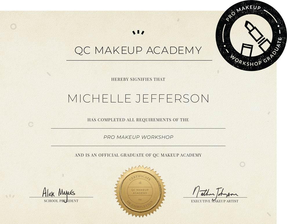 Pro Makeup Work Qc Academy
