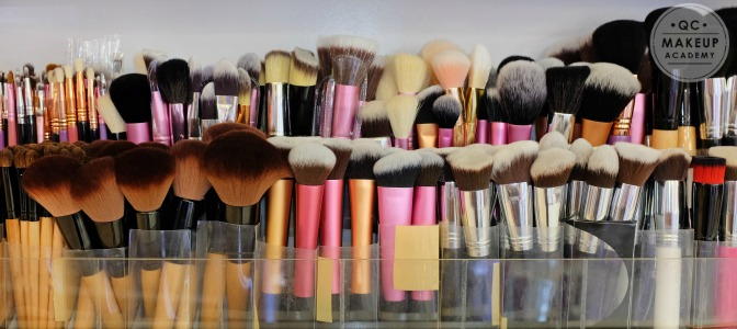Which of these brushes is used for eyeliner?