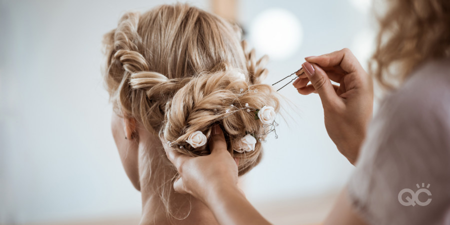 hair styling essentials for bridal makeup and weddings