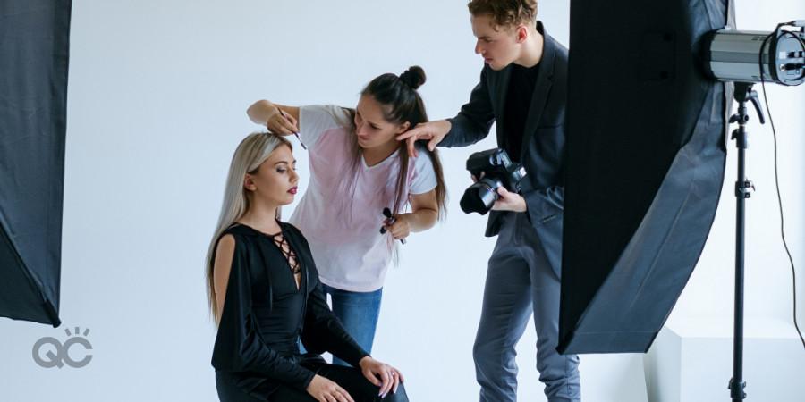 professional photoshoot makeup artist portfolio