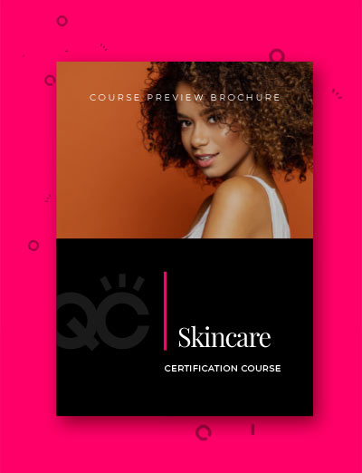 QC Skincare Course: Course Preview Brochure Cover Image