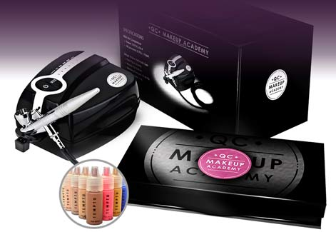 Become An Airbrush Makeup Artist With