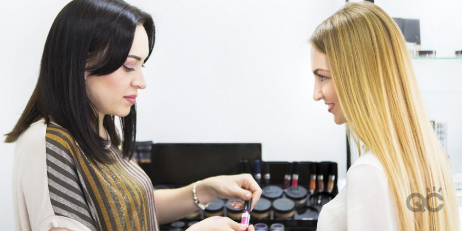 retail makeup artist