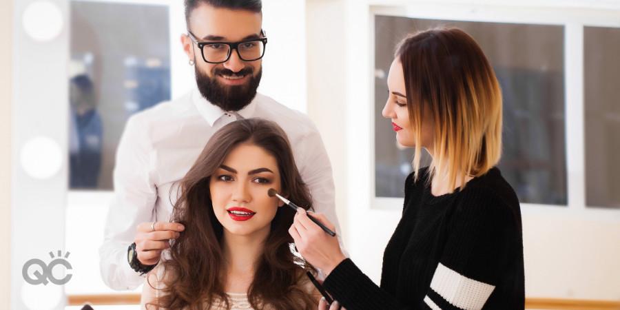 salon and spa makeup artist