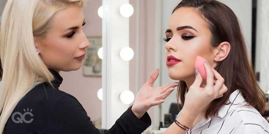 practice makeup application as much as you want when learning makeup online you'll have support