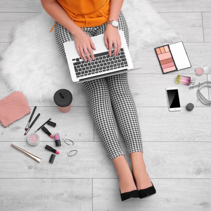 online makeup portfolio