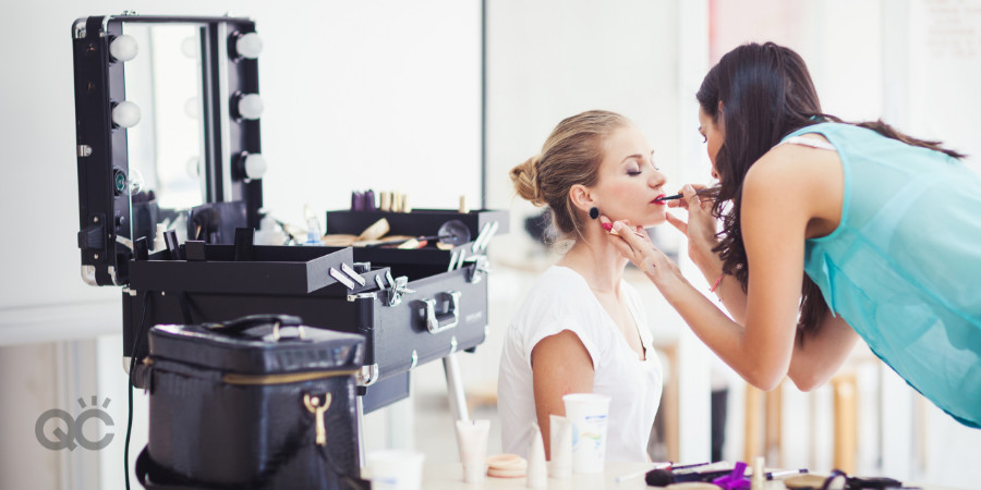 getting expert makeup training