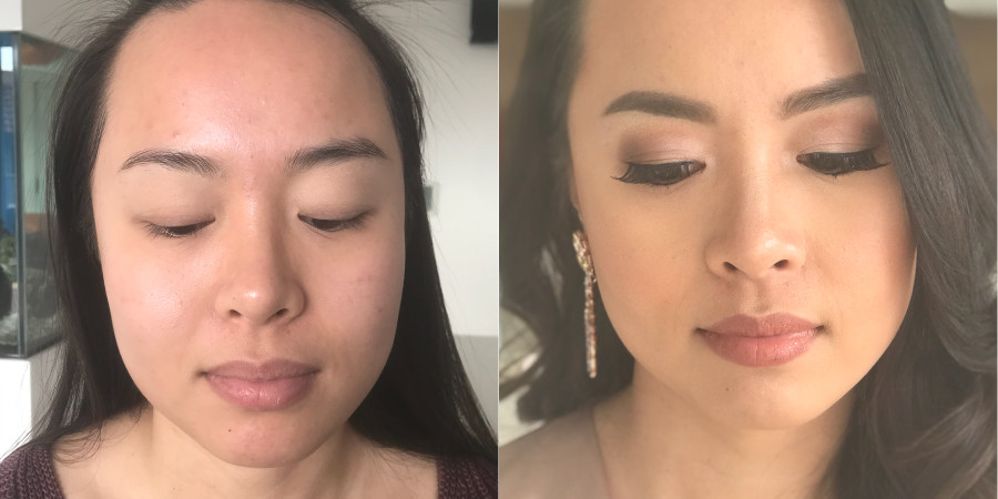 Jenny Ban's makeup skills as shown in her QC Makeup Academy student feature
