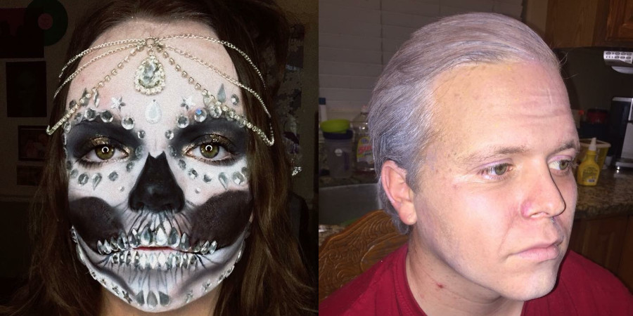 special FX makeup by Olivia Hackford
