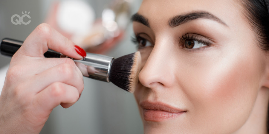 makeup application trial by a certified makeup artist