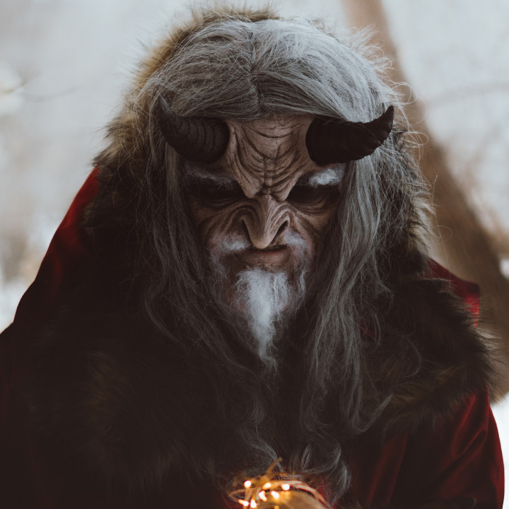 Tyler Russell special effects makeup artistry of Krampus graduate feature with QC Makeup Academy