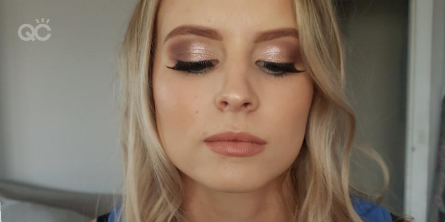 qc makeup academy graduate certified makeup artist Izzabelle Tokarski-Paine makeup client