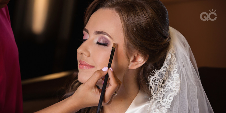 bridal client for professional makeup artistry application