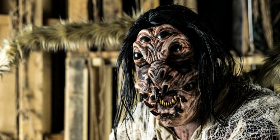 Special FX makeup artist Tyler Russel's makeup and prosthetic character