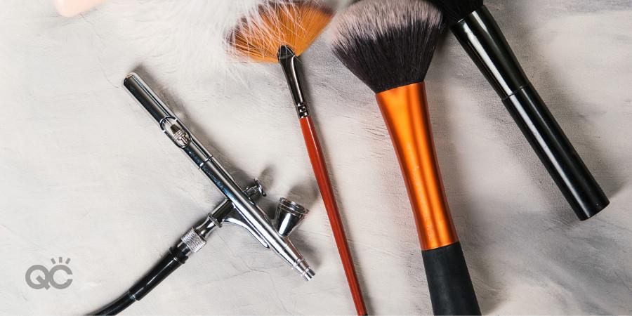 makeup artistry and airbrush makeup tools