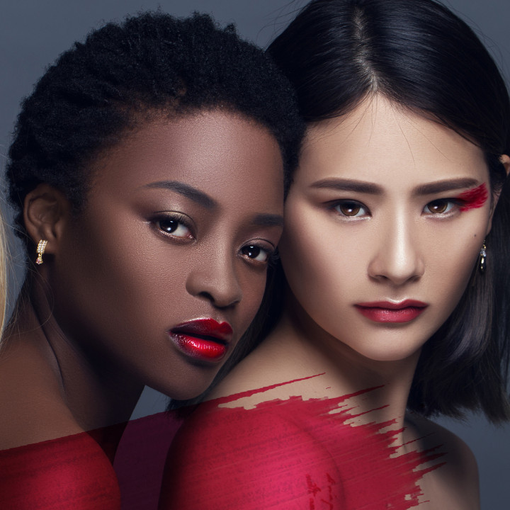 models women of color makeup