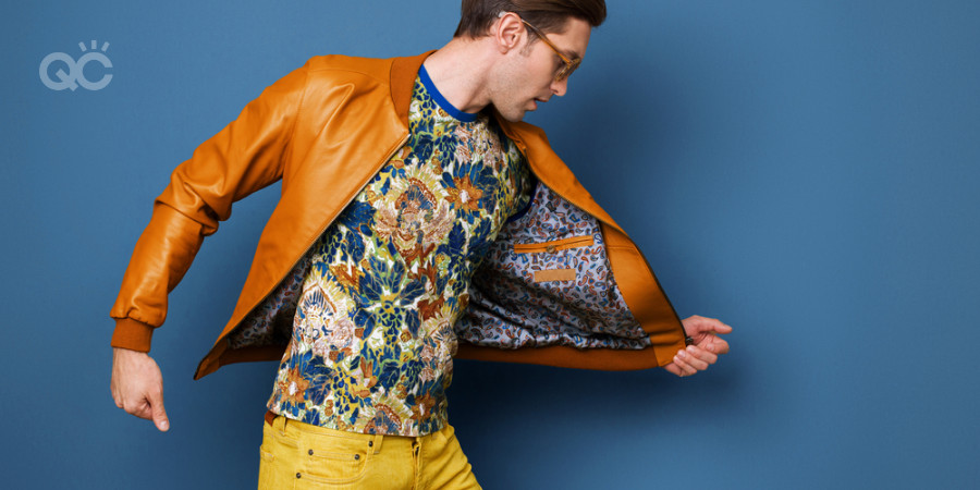 mixing patterns and colors men's fashion