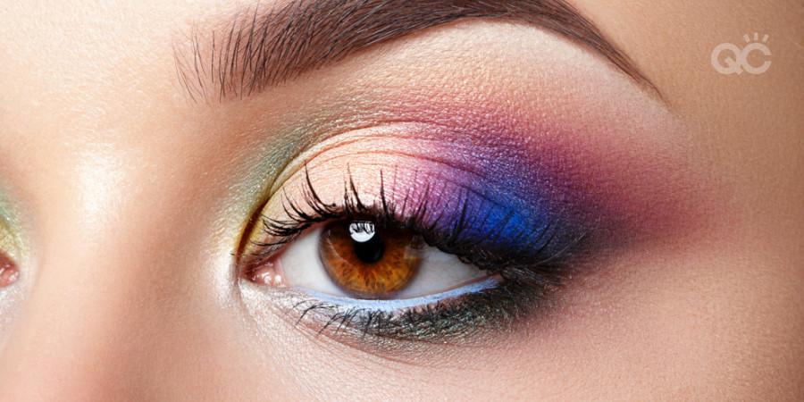 creative fantasy avant garde makeup colorful makeup school