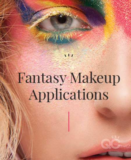 Fantasy makeup applications text book cover