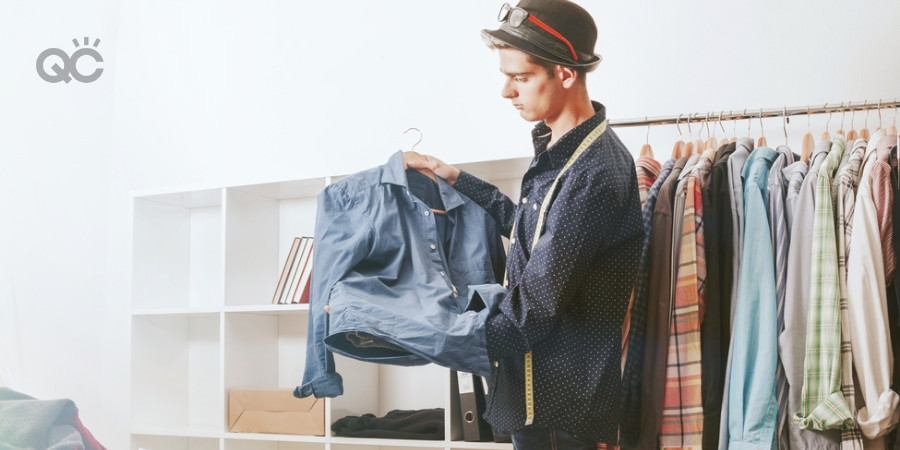 professional organizing tips by fashion stylist for closet spring clean