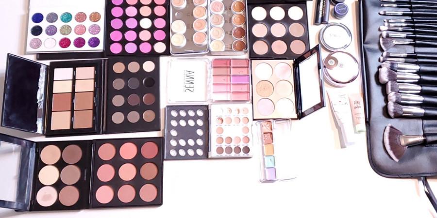 qc makeup academy graduate Whitney Conn professional makeup artist kit part 2