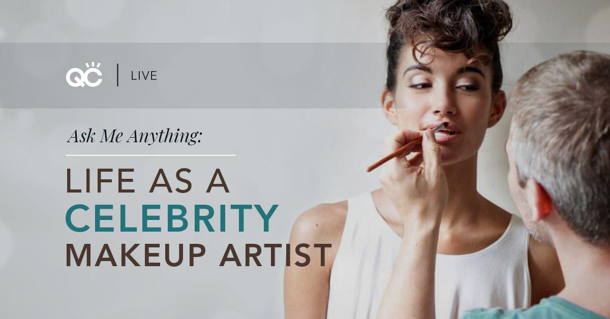 Nathan Johnson - celebrity makeup artist makeup career