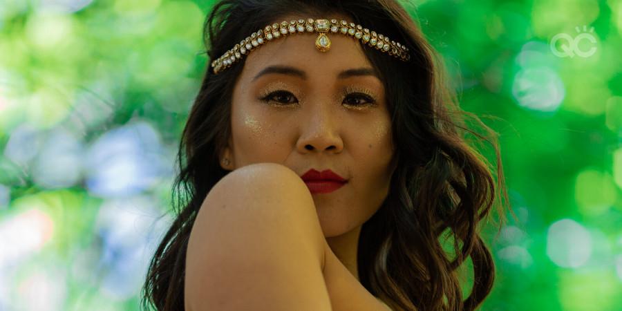 Online makeup school graduate Akansha Singh makeup artistry