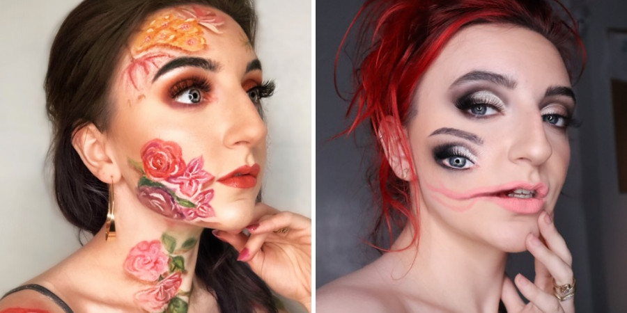 makeup classes online graduate Kirsten hart special effects makeup artistry