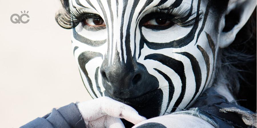 zebra special effects makeup artistry