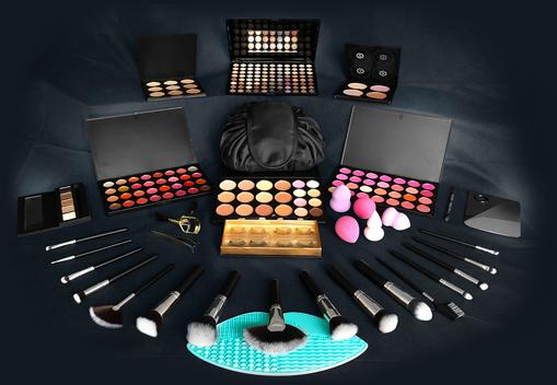 QC Makeup Academy - Master Makeup Artistry Course Free Makeup Kit - Special 15-Piece Makeup Kit Image Mobile