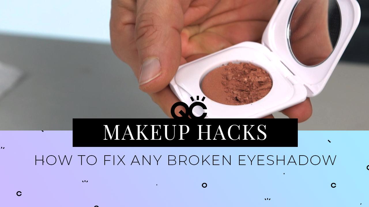 how to fix your broken eyeshadow professional makeup artist training