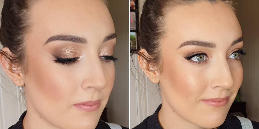 Birri-Li graduated from makeup artist classes and runs a makeup business