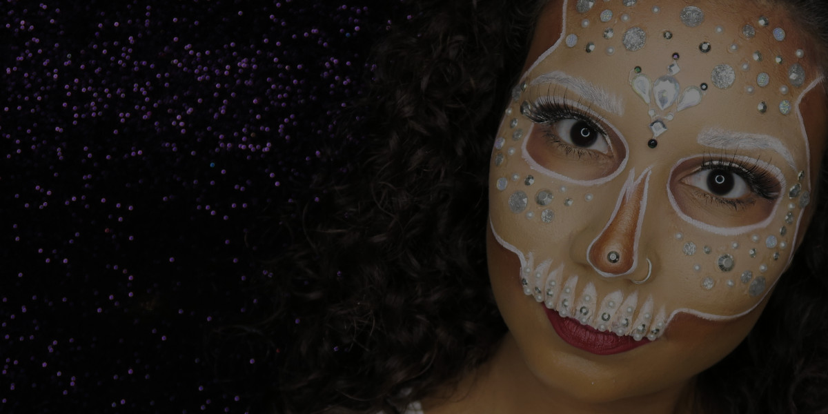 Special FX Makeup Tutorial: Bejeweled Skull [video]