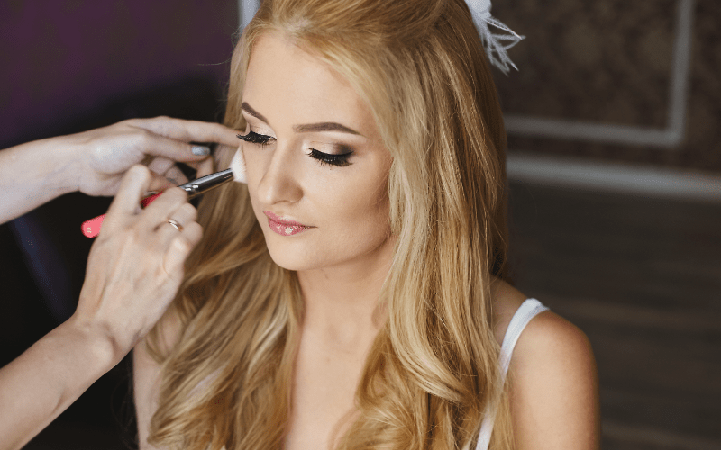 becoming a makeup artist professional career