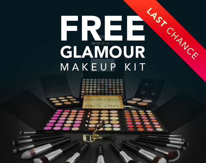 QC Makeup Academy Flash Promotion - Free Glamour Kit Extended Mobile