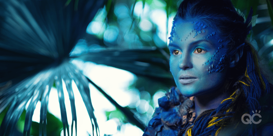 special fx makeup - avatar-looking creature