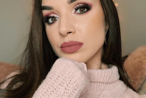Devyn Gregorio - still-frame - Valentine's makeup tutorial look