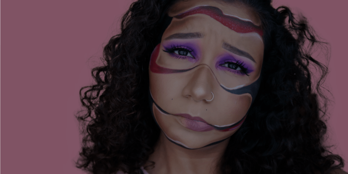Special Effects Makeup: Sliced Face Tutorial [video]