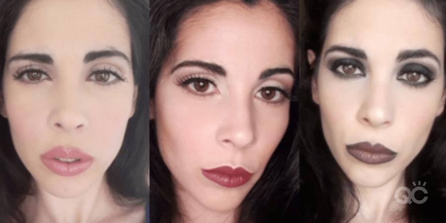 Daytime to Nighttime Makeup Looks by QC Makeup Academy Graduate Nadia Calabro