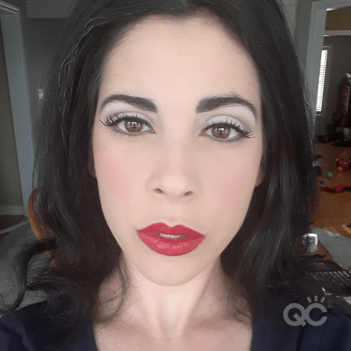 Bridal Makeup Application - QC Makeup Academy Graduate Nadia Calabro