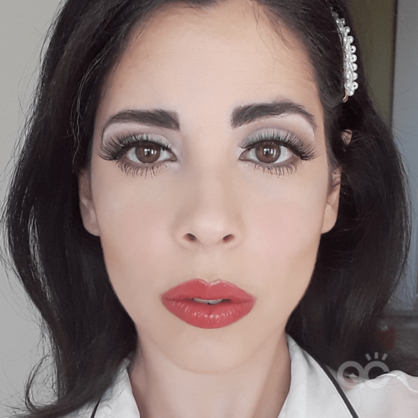 qc ambassador, nadia calabro, makeup career