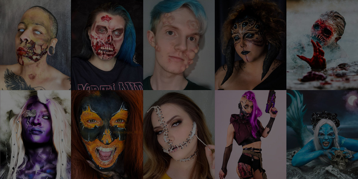 Halloween Makeup Contest 2020: WINNERS REVEALED!
