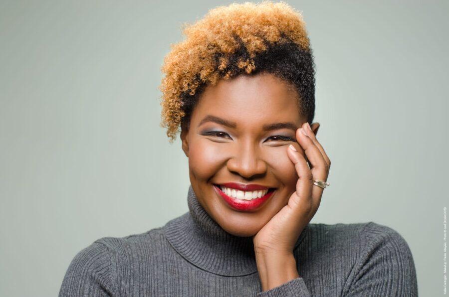 makeup artistry career - paula alleyne editorial shoot image 1
