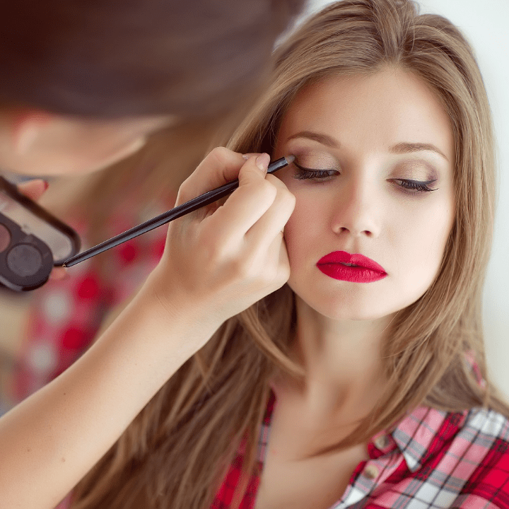 learn how to do makeup by practicing on another person