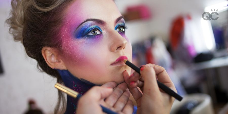 How to become a makeup artist in-post image 3, fantasy makeup application