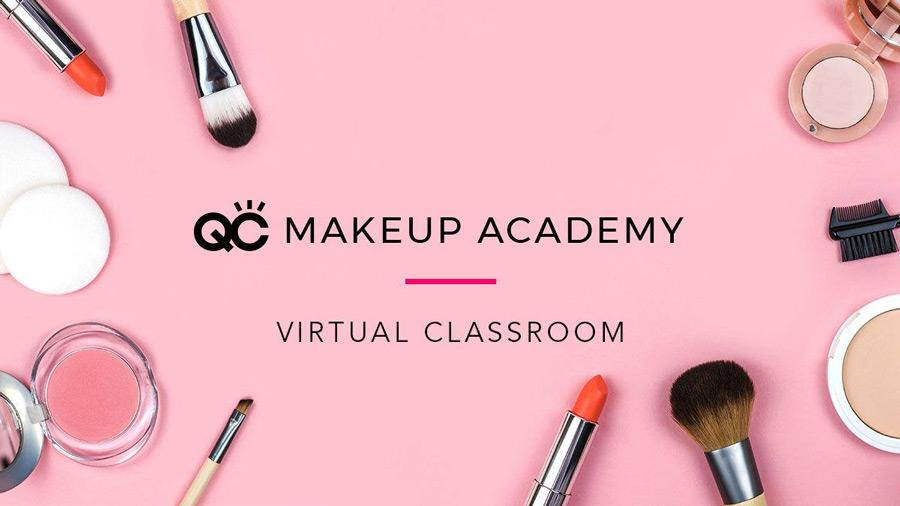 QC Makeup Academy Virtual Classroom FB banner